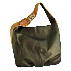 Shop Scintilla Hobo Italian Leather Bag in UAE