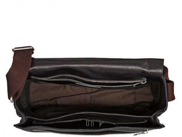 Buy Sage Italian Leather Messenger Bags For Men