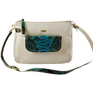 Shop Melange Leather Shoulder Bag For Ladies Online