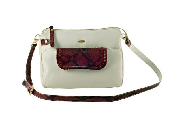 Shop Melange Leather Shoulder Bag For Ladies Online
