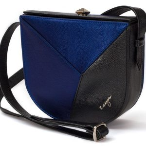 Shop Women's Cosset Curved Leather Shoulder Bag in UAE