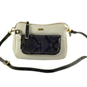 Melange Leather Shoulder Bags For Women KAT 1854 Bag