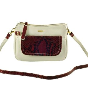 Get Melange Leather Shoulder Bags For Women Online