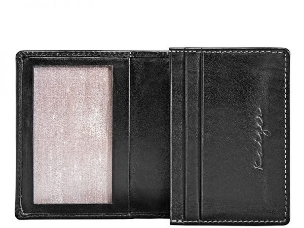 Zenith Leather Business Card Holder Online available in black & brown color KZ929