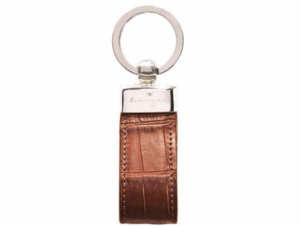 Shop Statesman Leather Key Fob in UAE