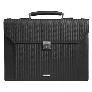 Buy Magnate Leather Business Bag For Men In UAE