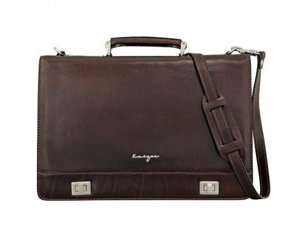 Men's Statesman Leather Business Bag In UAE