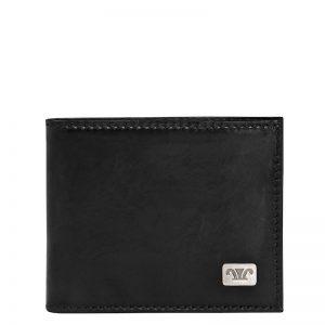 Statesman Men's Leather Wallet in Brown & Black Color Wallet KZ 562