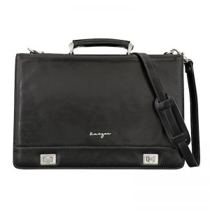 Men's Statesman Leather Business Bag In UAE