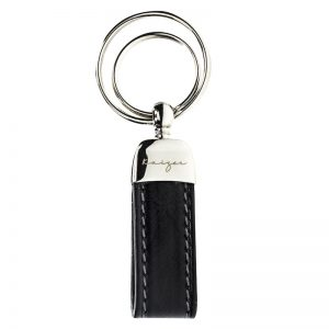 Statesman Leather Key Fob - Black, Brown & Dark Brown Color