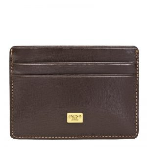 Credence Leather Business Card Holder Black color