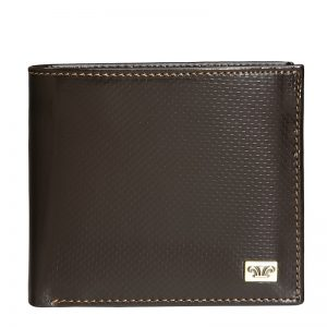Credence Leather Wallet For Men in Brown & Black Color KZ551