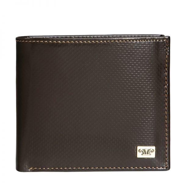 Credence Leather Wallet For Men in Brown & Black Color KZ551