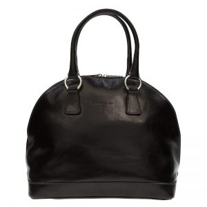Absolute Leather Black Satchel - Ladies Hobos KZ1866