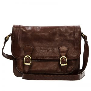 Cavalry Women's Leather Shoulder Bag - Brown, Antique Tan Color