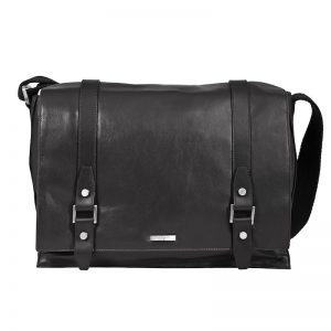Buy Sage Italian Leather Messenger Bags For Men