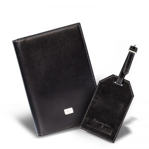Men's Duncan Leather Travel Wallet