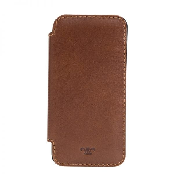 Duncan Leather Iphone5 Case - Brown, Black Color
