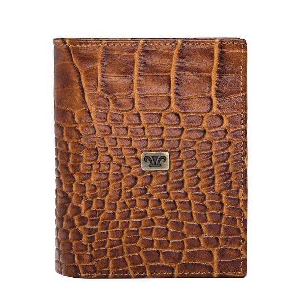 Shop Men's Wittet Croco Leather Wallet in UAE