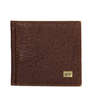 Ridge Men's Leather Money Clip Wallet - Brown, black, dark brown Color
