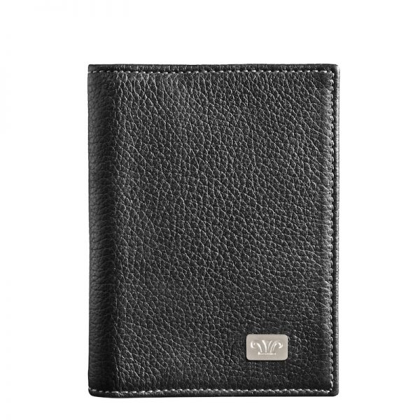 Ridge Leather Card Holder made of Italian genuine leatherKR 1603