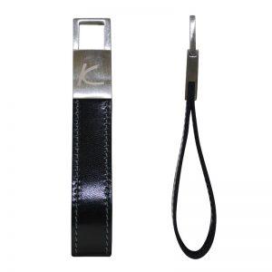 Zenith Leather Keyholder - Black Color