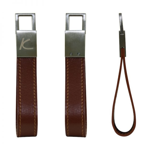 Zenith Leather Keyholder - Brown Color - Pure Leather