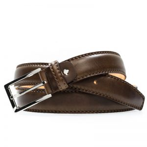 Cuoio Leather Belt For Men - Black, Dark Brown, Brown Color