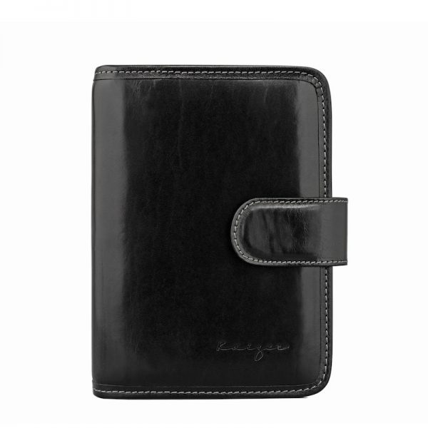 Personal Leather Organizer available in Black & Brown colors