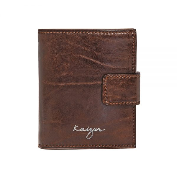 Statesman Leather Wallet For Men Online available in black & brown colors