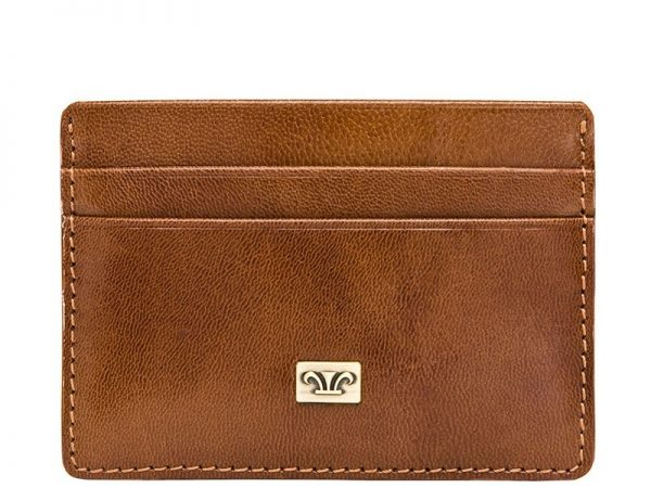 Zenith Business Leather Card Holder in black, brown colors KZ918