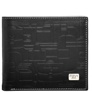 mens wallet insignia leather