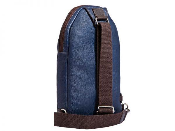 Men's City Leather Body Bag In UAE