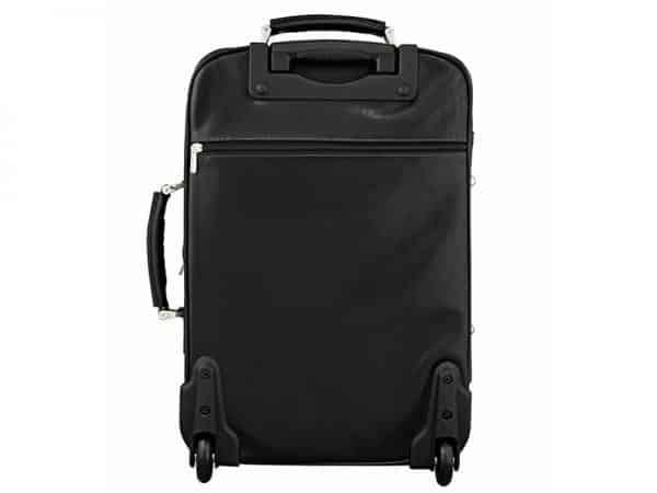 Buy Statesman Cabin Trolley Leather Travel Bag Online