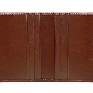 Zenith Leather Cardholder - Brown Color - Pure Leather
