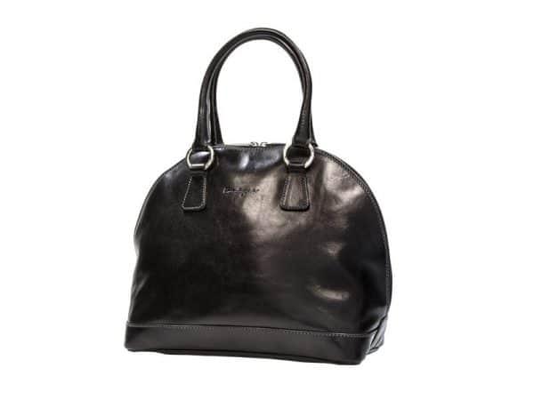 Absolute Leather Black Satchel - Ladies Hobos