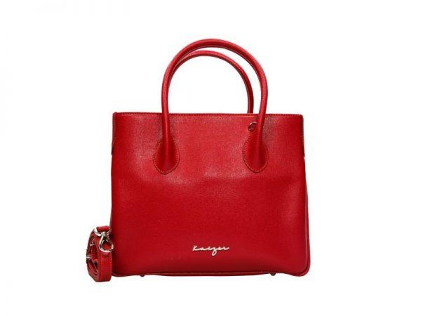 Au Fait Ladies Leather Tote - Black, Blue, Torquoise, Red, Tan Color