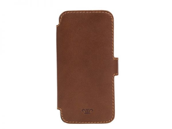 Duncan Leather Iphone5 Case - Black, Brown Color