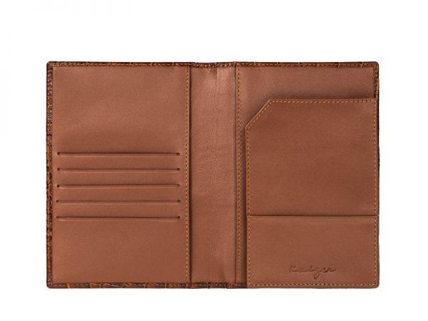 Wittet Croco Leather Travel Wallet Online
