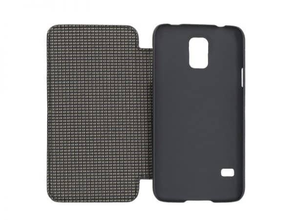 Duncan Samsung Galaxy S5 Case - Brown, Black Color