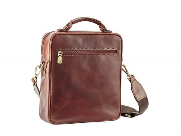 Men's Statesman Leather Cross Body Bag