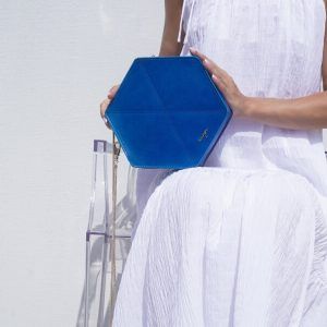 Allure Hexagonal Bag Leather Kaizer