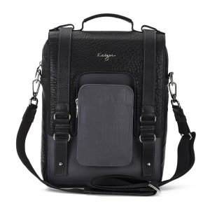 Men's Insignia Leather Cross Body Bags Online In UAE