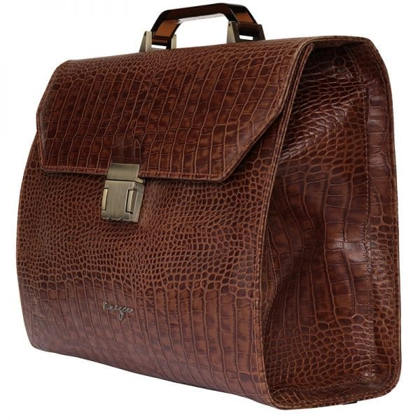 Croco Doctor Bag KWC1278